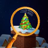 Cozy Christmas Santa Claus House : Hidden Object